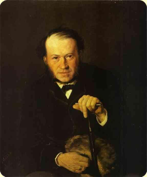 Vasily Perov. Portrait of Vasily Bezsonov.