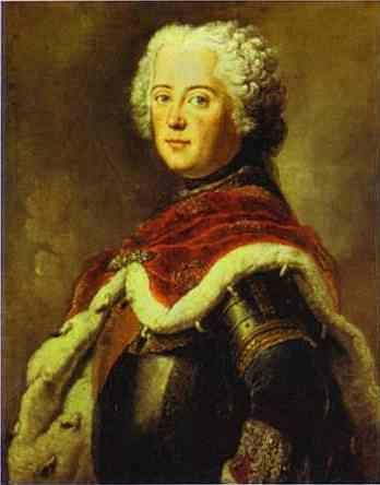 Antoine Pesne. Frederick the Great as Crown  Prince.