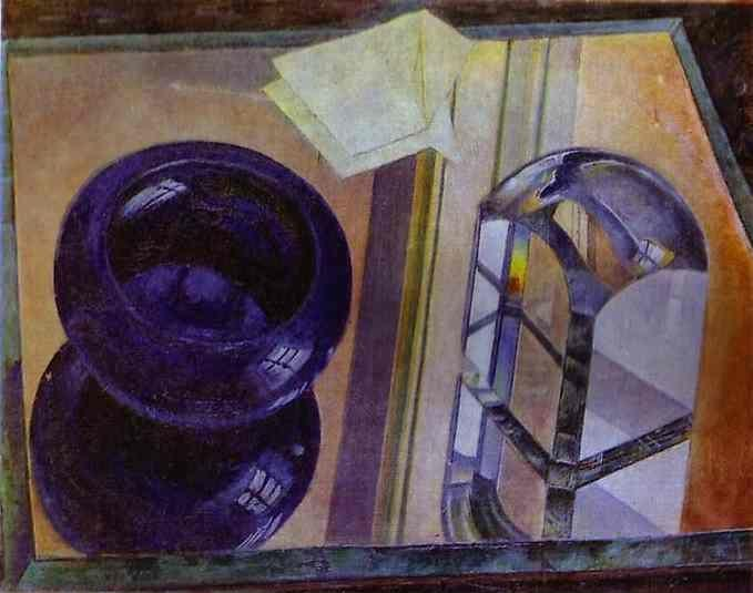 Kuzma Petrov-Vodkin. Still Life with Blue  Ashtray.