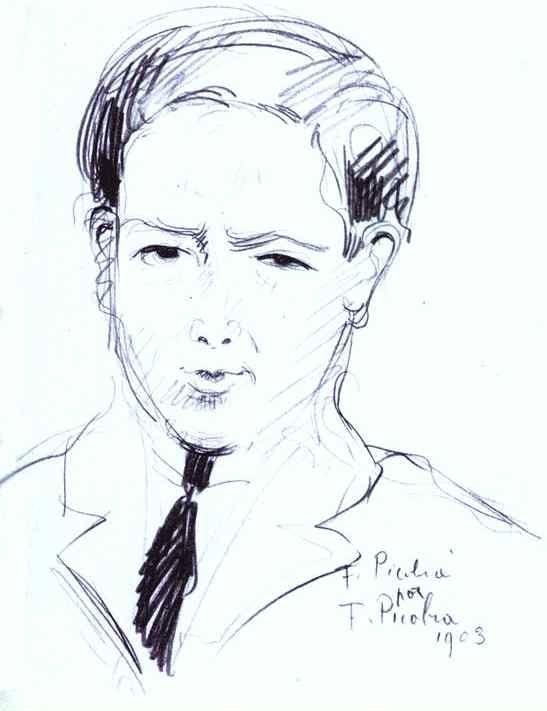 Francis Picabia. F. Picabia by F. Picabia.