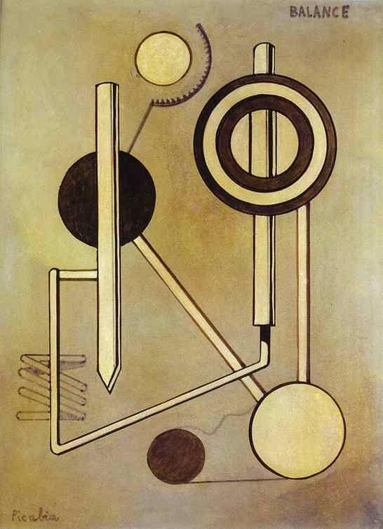 Francis Picabia. Balance.