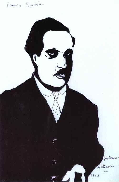 Francis Picabia. Guillaume Apollinaire in 1913.