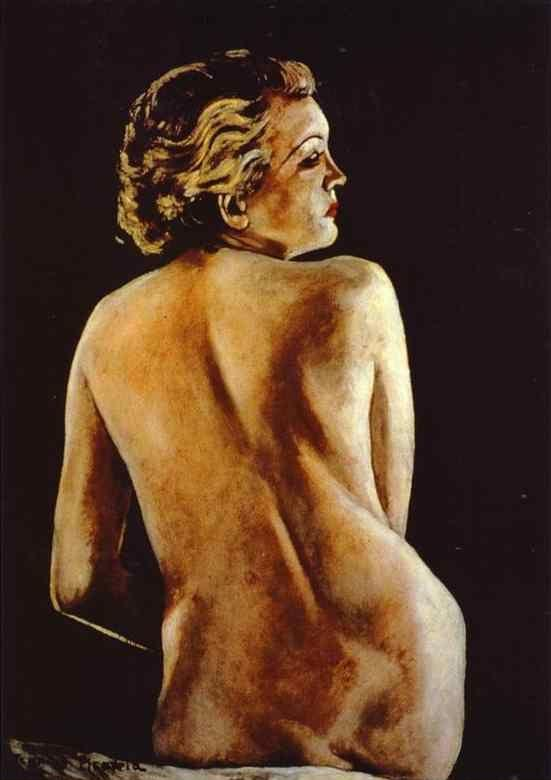 Francis Picabia. Nude from Back / Nu de dos.