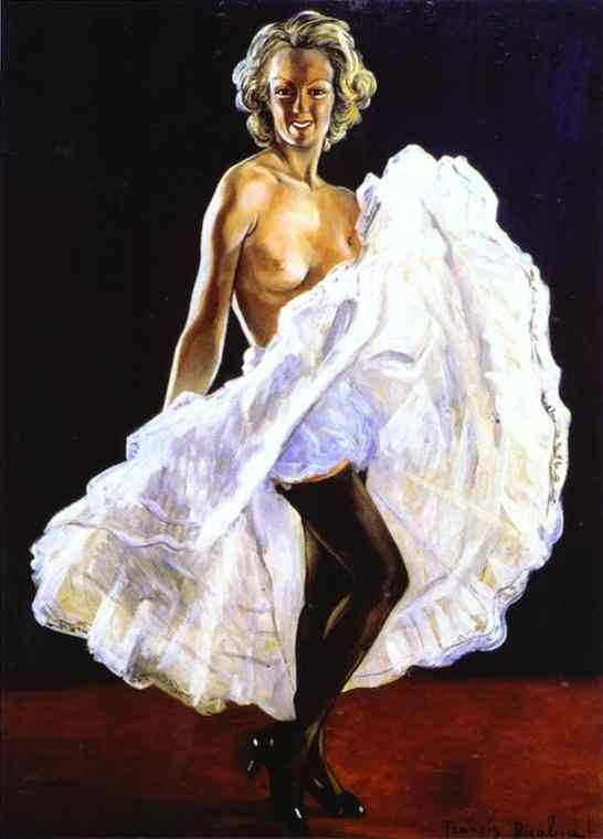 Francis Picabia. Dancer of French Cancan/La  danseuse de french-cancan.