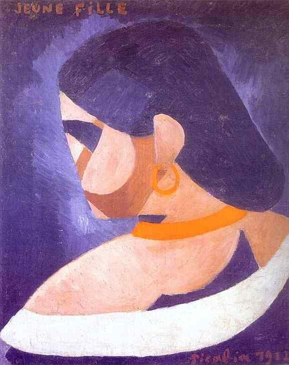 Francis Picabia. Young Girl/Jeune fille.