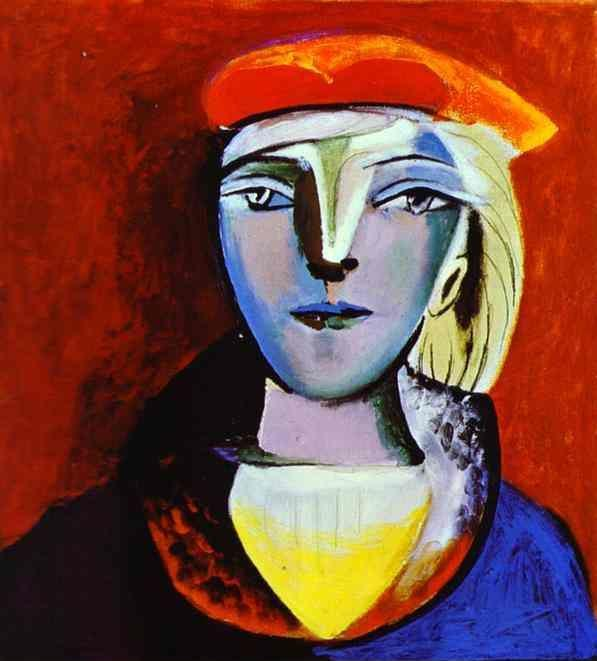 Pablo Picasso. Marie-Therese Walter.