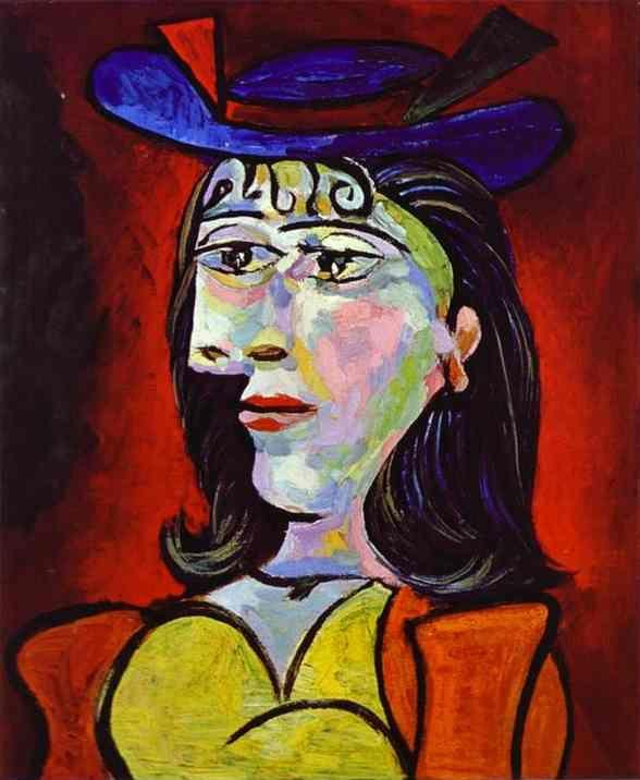 Pablo Picasso. Portrait of a Young Girl.