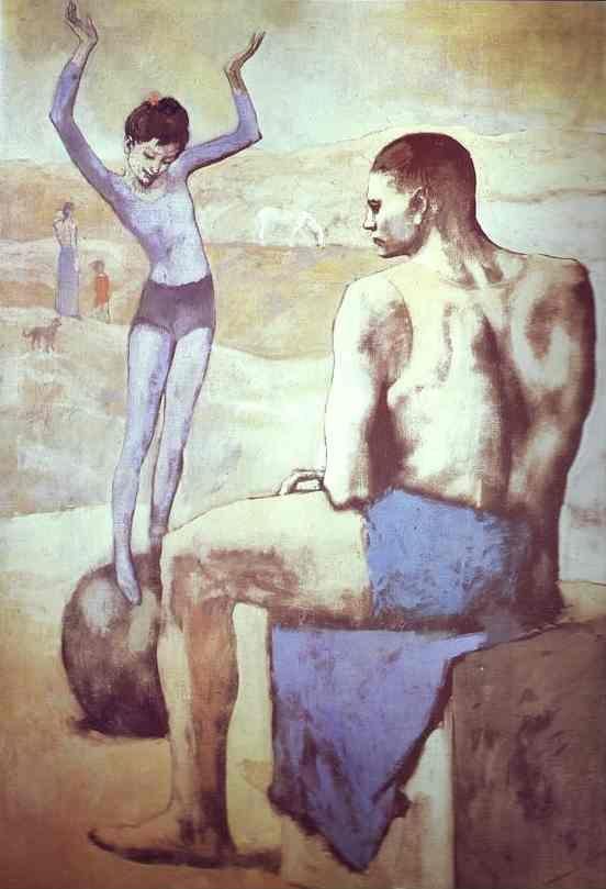 Pablo Picasso. Acrobat on a Ball.