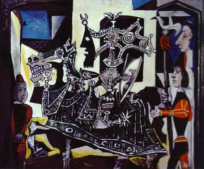 Pablo Picasso. Knight, Page and Monk.
