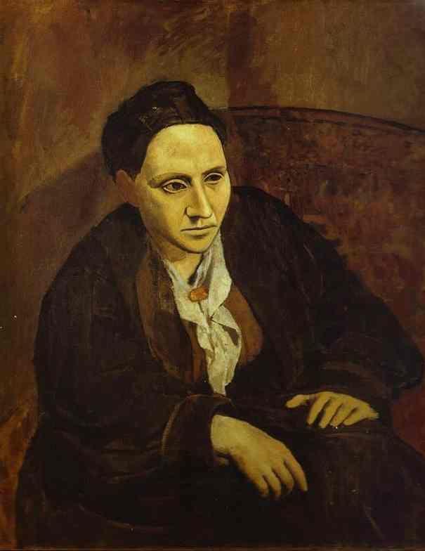 Picasso's Portrait of Gertrude Stein