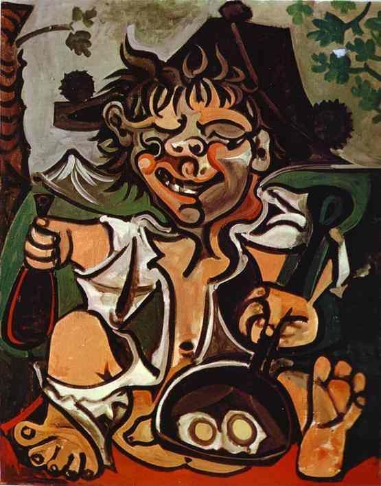 Pablo Picasso. El Bobo.