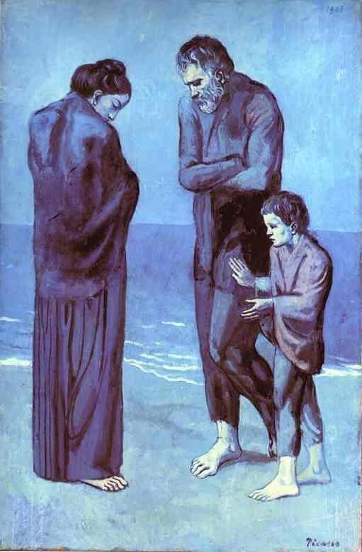Pablo Picasso. The Tragedy.