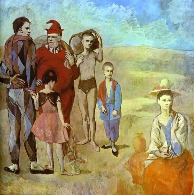 Pablo Picasso. The Family of Saltimbanques.