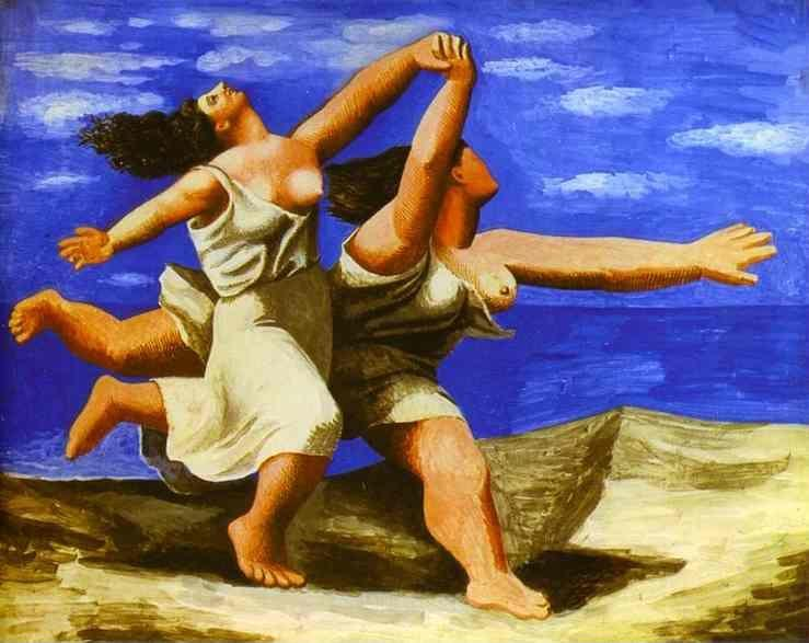 Pablo Picasso. Women Running on the Beach.