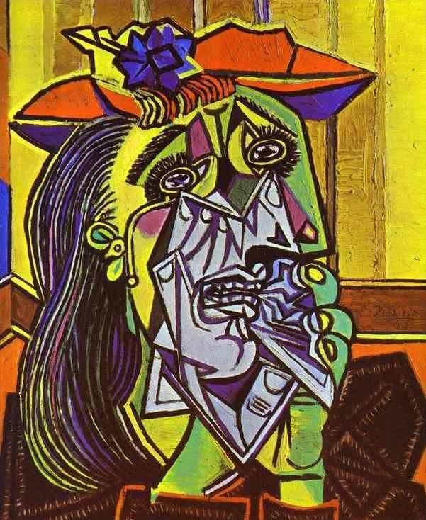 Pablo Picasso. Weeping Woman.