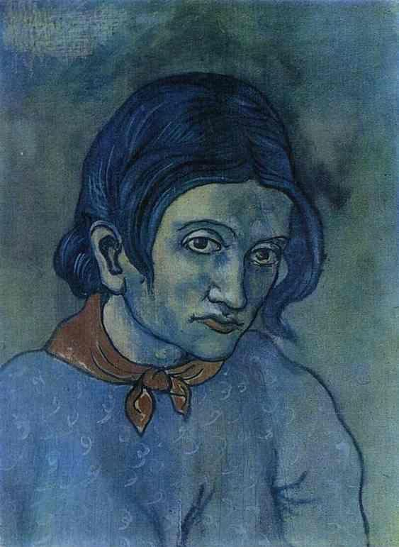 Pablo Picasso. Portrait of a Young Woman.