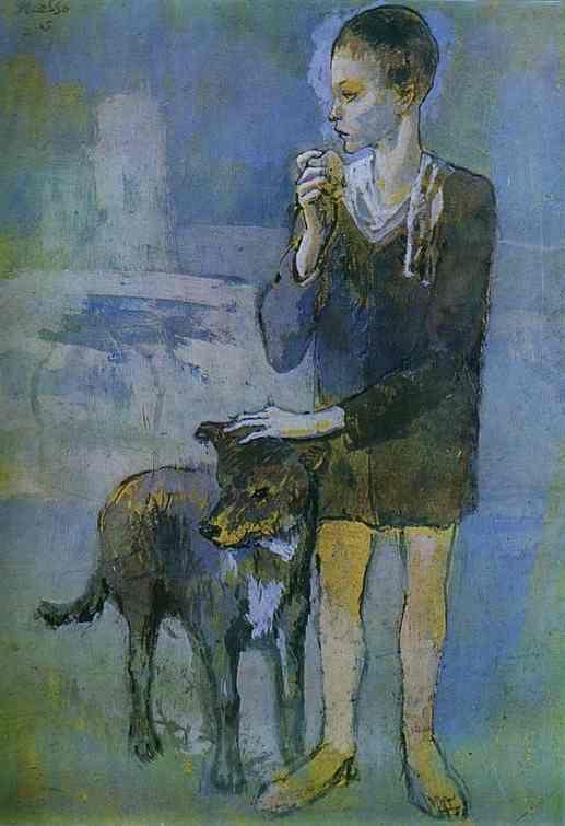 Pablo Picasso. Boy with a Dog.