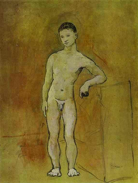 Pablo Picasso. Nude Youth.