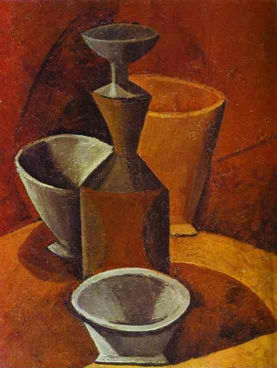 Pablo Picasso. Decanter and Tureens.