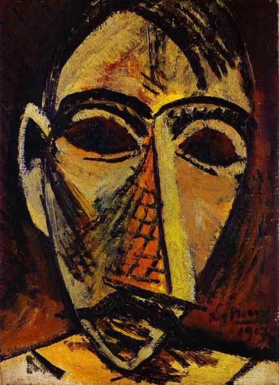 Pablo Picasso. Head of a Man.