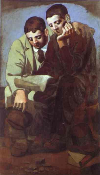 Pablo Picasso. Reading of Letter. 1921. Oil on canvas. Muse Picasso ...