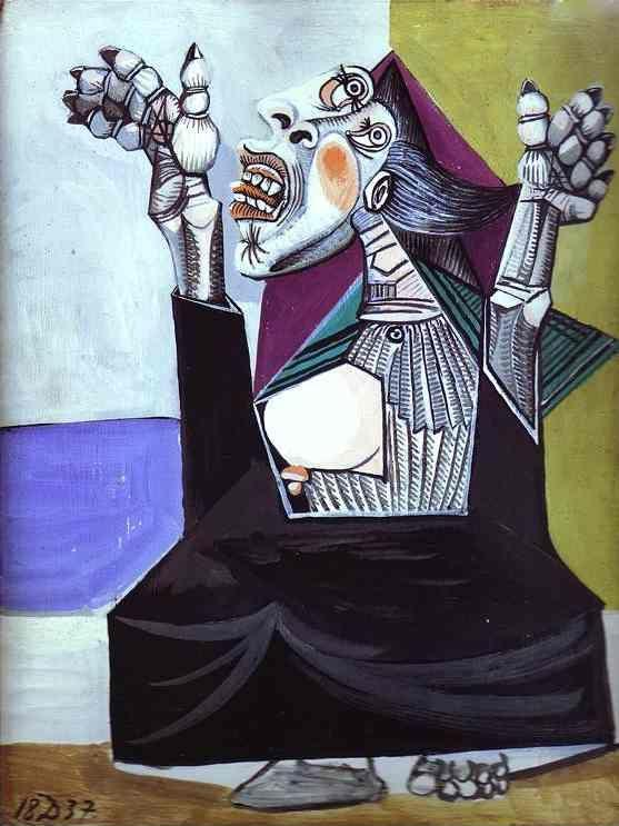 Pablo Picasso. La Suppliante.