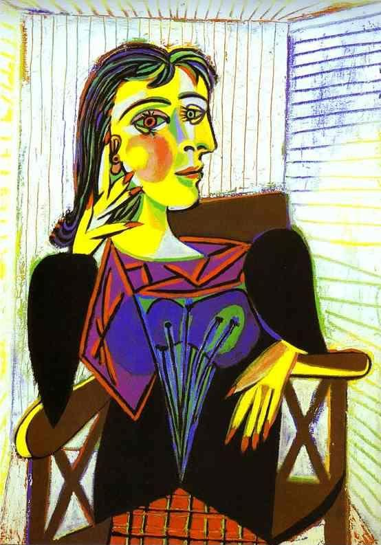 Pablo Picasso. Portrait of Dora Maar.