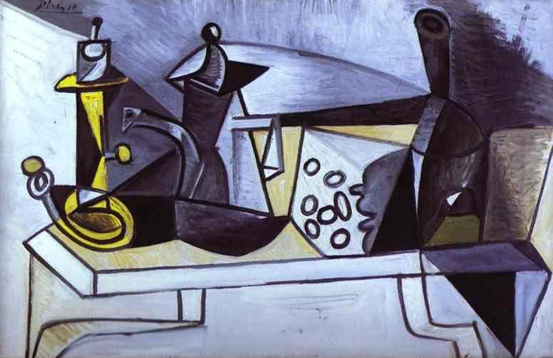Pablo Picasso. Still-Life with Cheese.