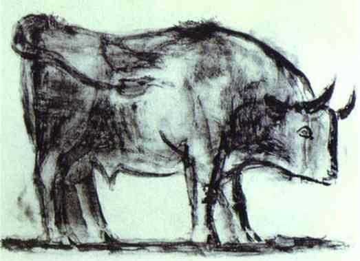 Pablo Picasso. The Bull. State I.