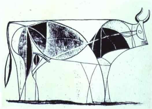Pablo Picasso. The Bull. State VIII.
