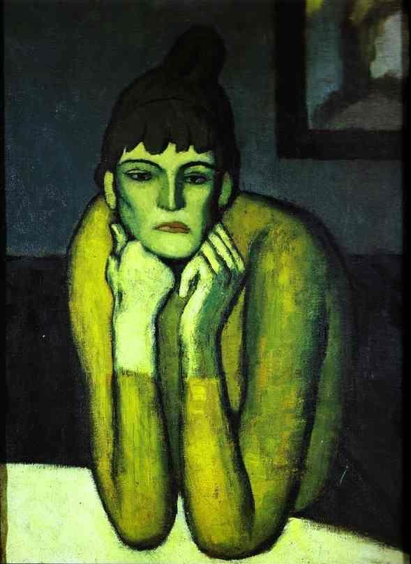 Pablo Picasso. Woman with Chignon.