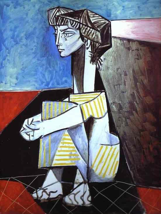 Pablo Picasso. Jacqueline with Crossed Hands.