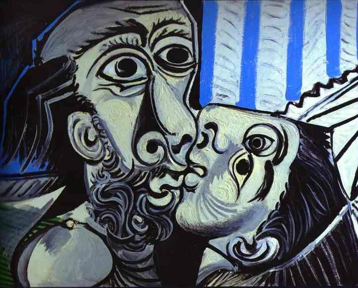Pablo Picasso. The Kiss.