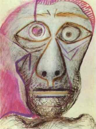 Pablo Picasso. Self-Portrait.