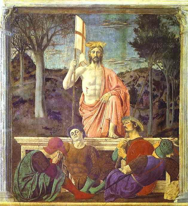 Piero della Francesca. The Resurrection.