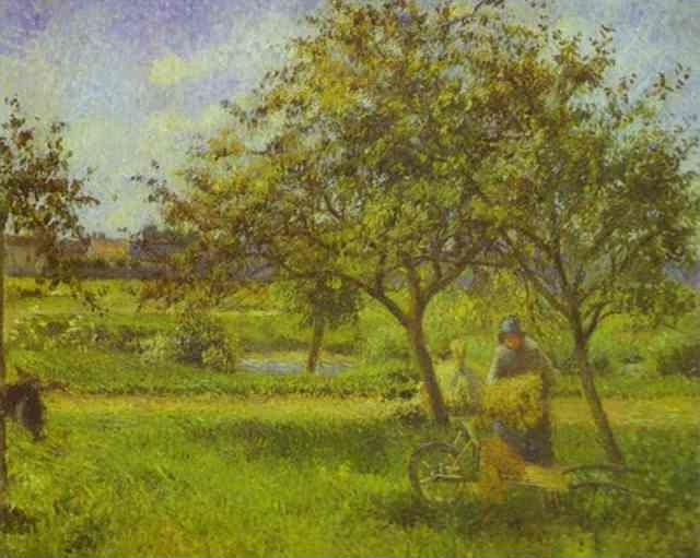 Camille Pissarro. The Wheelbarrow.