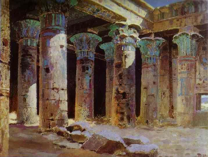 Vasiliy Polenov. The Temple of Isis.