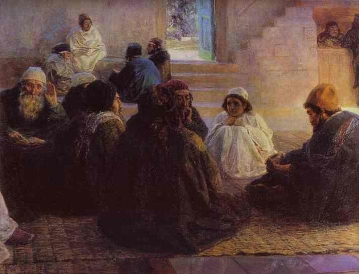 Vasiliy Polenov. Among the Teachers.