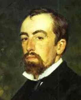 Vasiliy Polenov Portrait