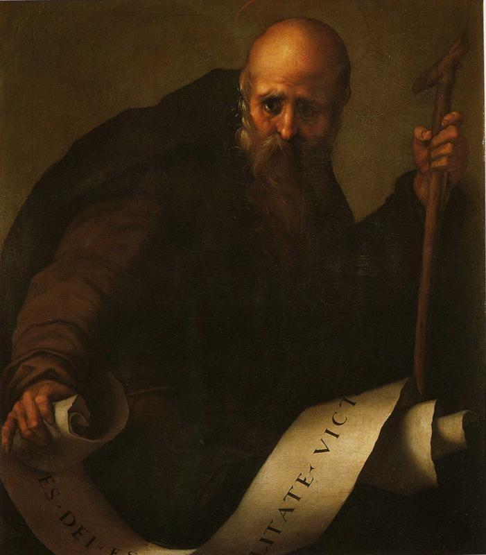 Pontormo. St. Anthony Abbot.