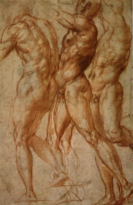 Pontormo. Motion Study for. Joseph in Egypt.