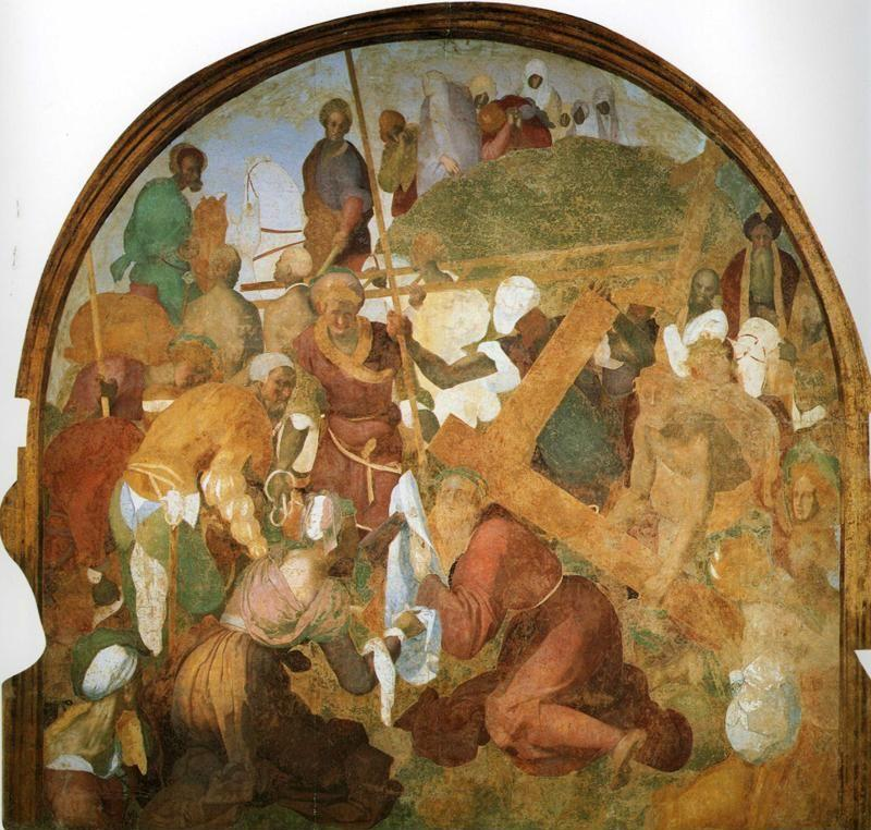 Pontormo. The Ascent to Calvary.