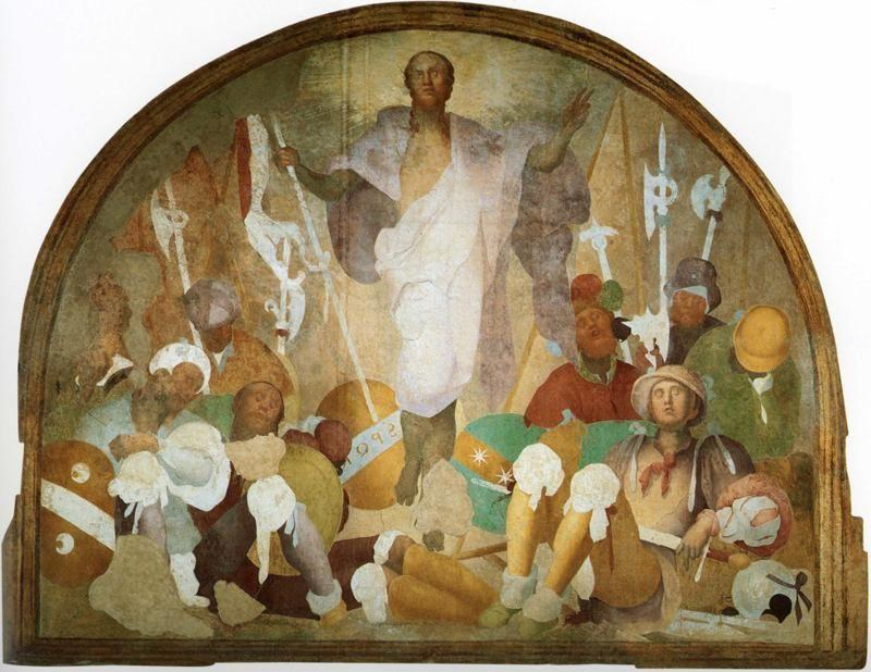 Pontormo. The Resurrection of Christ.