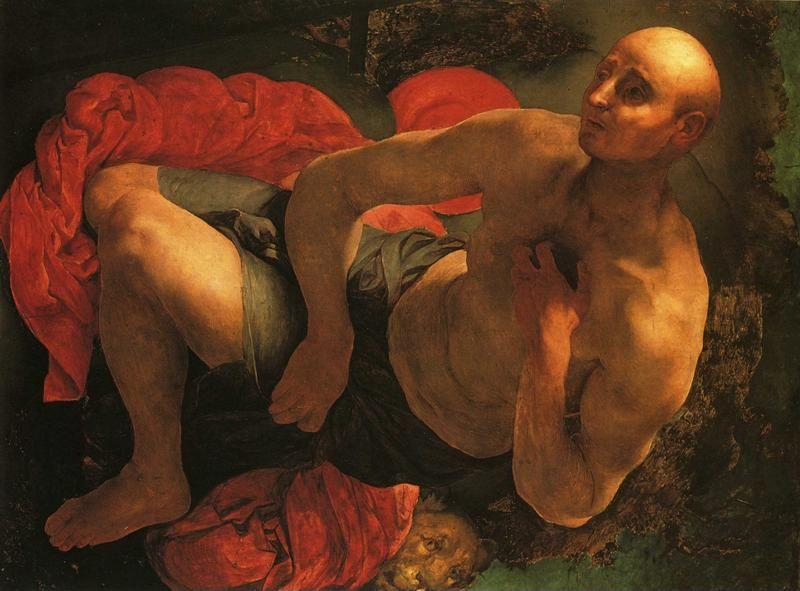 Pontormo. The Penitence of St. Jerome.