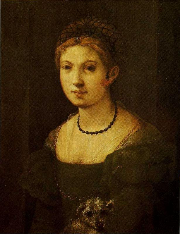Pontormo. Portrait of a Young Woman.
