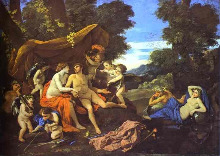 Nicolas Poussin. Mars and Venus.