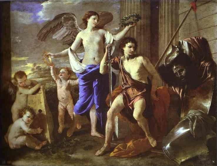 Nicolas Poussin. The Triumph of David.
