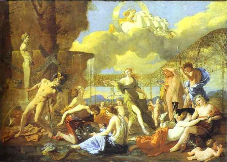Nicolas Poussin. The Garden of Flora.