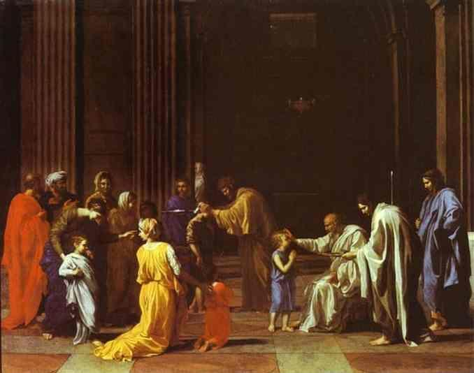 Nicolas Poussin. The Confirmation.