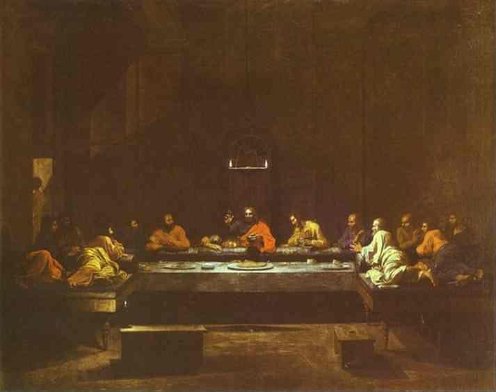 Nicolas Poussin. The Last Supper.